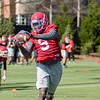 Jeremiah Holloman - 2018 Spring Practice - Day 2 - March 22, 2018