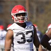 Robert Beal  - UGA Spring Practice Day 2 - March 22, 2018