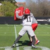 Keyon Brown  - UGA Spring Practice Day 2 - March 22, 2018