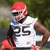 Jaleel Laguins  - UGA Spring Practice Day 2 - March 22, 2018