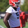 Julian Rochester  - UGA Spring Practice Day 2 - March 22, 2018