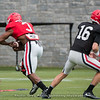 Zamir White  - UGA Spring Practice Day 2 - March 24, 2018