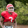 Zamir White - 2018 Spring Practice Day 4 - March 27, 2018