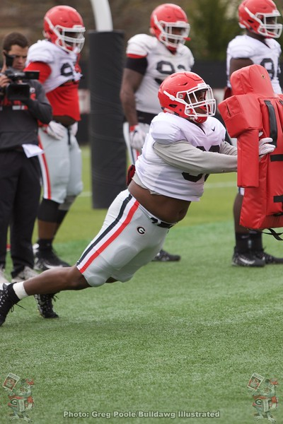 Spring Practice Day 4 - March 27, 2018