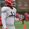 Keyon Brown  - 2018 Spring Practice Day 4 - March 27, 2018