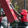 Trey Hill (55) and Kendall Baker (65)  - 2018 Spring Practice Day 6 - March 31, 2018