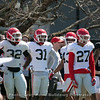 Monty Rice (32), William Poole (31)  - 2018 Spring Practice Day 6 - March 31, 2018