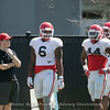Natrez Patrick (6) and Juwan Taylor (44)  - 2018 Spring Practice Day 6 - March 31, 2018
