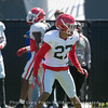 Mystery player - not on roster  - 2018 Spring Practice Day 6 - March 31, 2018