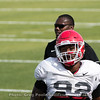 Justin Young  - 2018 UGA Spring Practice - April 03, 2018
