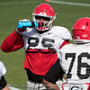 Devonte Wyatt (95)  - 2018 UGA Spring Practice - April 03, 2018