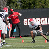 Tyrique McGhee  - 2018 UGA Spring Practice - April 03, 2018