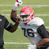 Michail Carter  - 2018 UGA Spring Practice - April 03, 2018