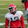 Malik Herring  - 2018 UGA Spring Practice - April 03, 2018