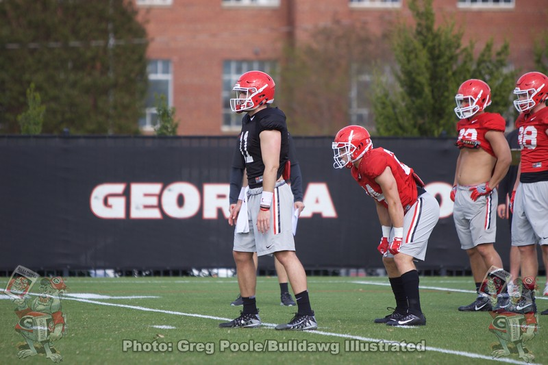 Jake Fromm  - Spring Practice Day 7 - April 3, 2018
