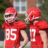 Cameron Moore and Jordon McKinney  - Spring Practice Day 7 - April 3, 2018
