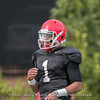 Justin Fields  - Spring practice day 9 - April 5, 2018