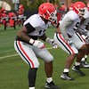Jonathan Ledbetter  - UGA Spring Practice Day 8 - April 5, 2018