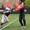 Jaleel Laguins  - UGA Spring Practice Day 8 - April 5, 2018