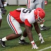 Devonte Wyatt  - UGA Spring Practice Day 8 - April 5, 2018