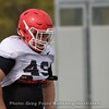 Koby Pyrz  - UGA Spring Practice Day 8 - April 5, 2018