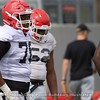 Michail Carter  - UGA Spring Practice Day 8 - April 5, 2018