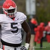 julian Rochester  - UGA Spring Practice Day 8 - April 5, 2018