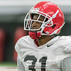 William Poole  - 2018 UGA Spring Practice - April 07, 2018