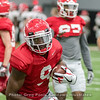 Jeremiah Holloman  - 2018 UGA Spring Practice - April 07, 2018