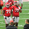 Warren McClendon (70) and D'Marcus Hayes (78)