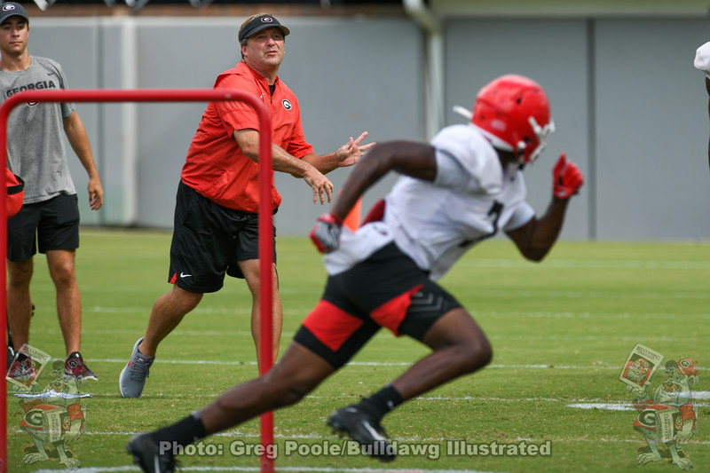 Kirby Smart and Tyrique Stevenson (7)