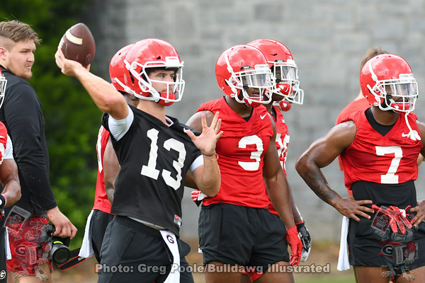 2019 Fall Camp - Opening Day - August 02, 2019