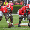 Trey Hill (55) and Solomon Kindley (66)
