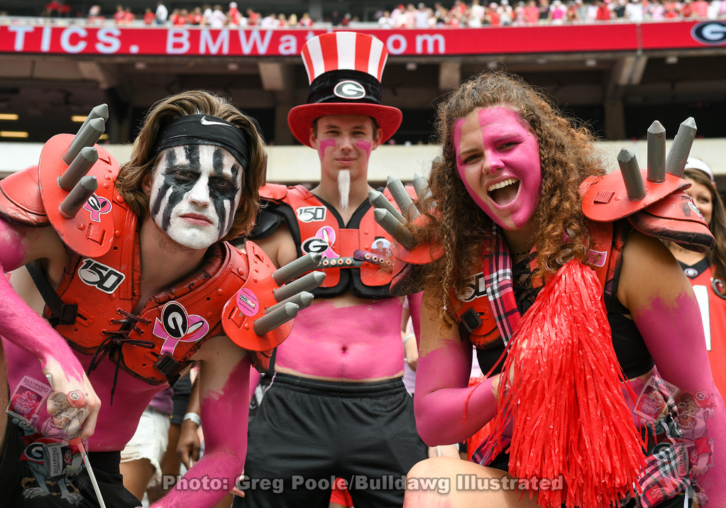 UGA Spike Squad, Arkansas State game, September 14, 2019