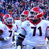 D'Andre Swift (7), Solomon Kindley (66), and Andrew Thomas (71)