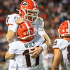 Jake Fromm (11) and Eli Wolf (17)