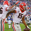 Demetris Robertson (16) and Lawrence Cager (15)