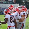 Jake Fromm (11) and Charlie Woerner (89)
