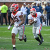 Brian Herrien (35) and D'Andre Swift (7)