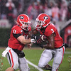 Jake Fromm (11) to Zamir White (3)
