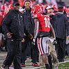 Kearis Jackson (10) and Kirby Smart