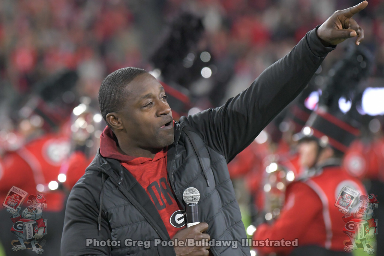 Former  Georgia tailback and NFL running back Garrison Hearst calls out the Dawgs. Georgia vs. Missouri, Saturday, November 9, 2019