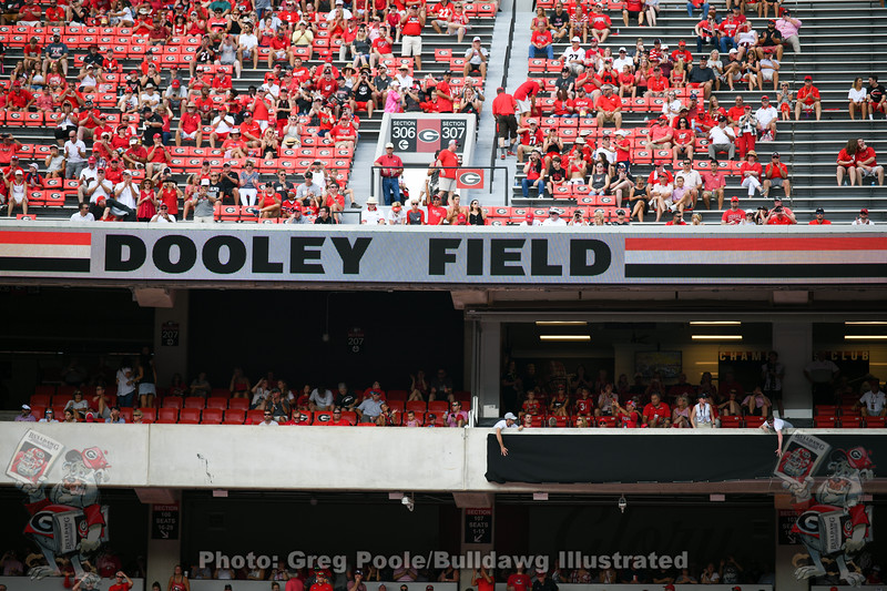 Dooley Field Dedication - Georgia vs. Murray State 2019 - September 07, 2019
