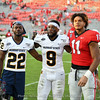 Jermaine Johnson (11) with friends from Murray State