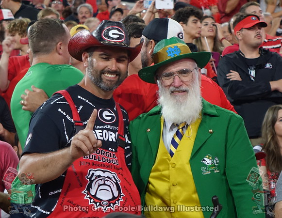 Georgia vs. Notre Dame 2019 - Bob's Photos
