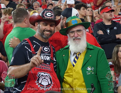 Bob's 2019 Georgia vs. Notre Dame Game Photos