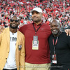 Champ Bailey, Richard Seymour and Emmitt Smith