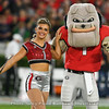 UGA Featured Twirler Braelynn and Hairy Dawg