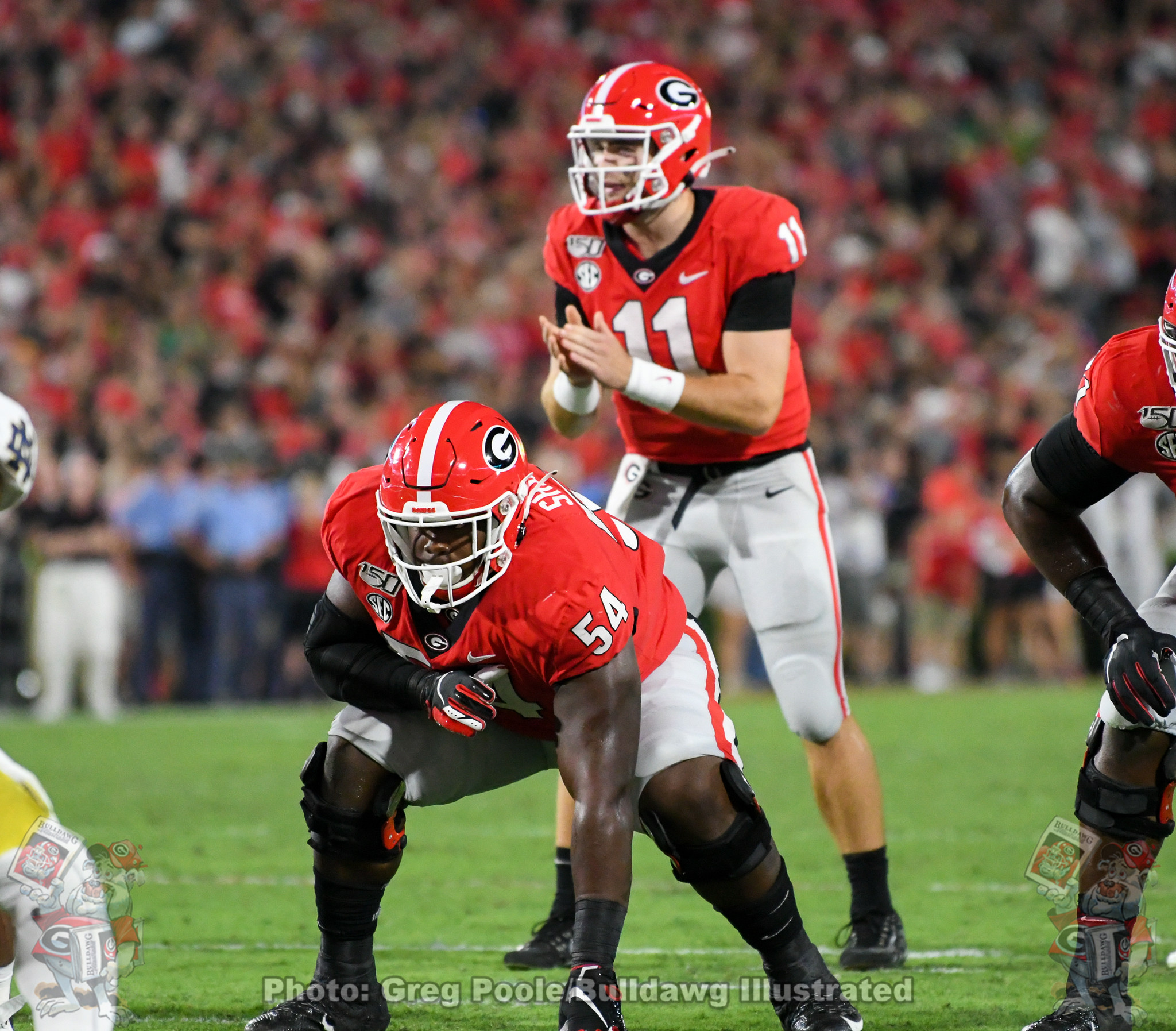 Georgia vs. Notre Dame 2019 - Second Quarter - September 21, 2019