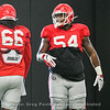 Solomon Kindley (66) and Justin Shaffer (54)